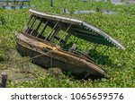 An Old Abandoned Boat Stuck In...