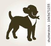A Logo Of A Labradoodle Dog...