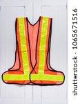 protective vest  reflective... | Shutterstock . vector #1065671516
