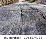 wooden table in the forest   Shutterstock . vector #1065674738
