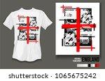 t shirt design england team... | Shutterstock .eps vector #1065675242