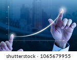 close up of a businessman   s... | Shutterstock . vector #1065679955