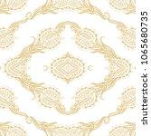ornamental seamless vector... | Shutterstock .eps vector #1065680735