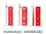 set of risk assessment concept. ...   Shutterstock .eps vector #1065681182