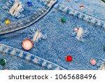 Denim Jeans Embellished With...