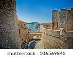 dubrovnik old city croatia... | Shutterstock . vector #106569842