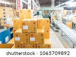 packaging department to prepare ... | Shutterstock . vector #1065709892