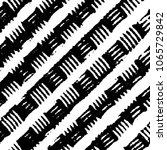 abstract grunge grid stripe... | Shutterstock .eps vector #1065729842