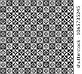 black and white decorative... | Shutterstock .eps vector #1065735245