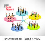 a large group of pixel people... | Shutterstock .eps vector #106577402