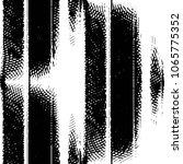 black and white grunge stripe... | Shutterstock .eps vector #1065775352