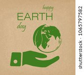 earth day background concept.... | Shutterstock .eps vector #1065797582