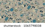 seamless floral pattern in... | Shutterstock .eps vector #1065798038