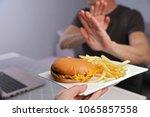 Man Refuses To Eat Junk Food ....