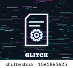 glitch effect. document...