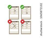 election ballot 2018 mexico ... | Shutterstock .eps vector #1065872132