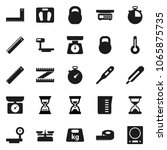 flat vector icon set  ... | Shutterstock .eps vector #1065875735