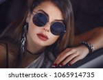 perfect fashionable caucasian... | Shutterstock . vector #1065914735