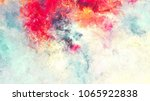 bright artistic splashes.... | Shutterstock . vector #1065922838