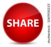 share isolated on elegant red... | Shutterstock . vector #1065930215