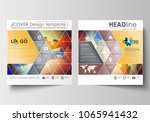 business templates for square... | Shutterstock .eps vector #1065941432