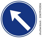 go to the left by the arrow... | Shutterstock .eps vector #1065942836