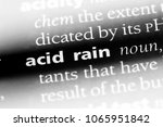Small photo of acid rain word in a dictionary. acid rain concept.