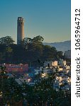 coit tower city of san francisco | Shutterstock . vector #1065964712