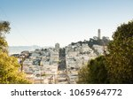 coit tower city of san francisco | Shutterstock . vector #1065964772