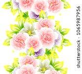 abstract elegance seamless... | Shutterstock .eps vector #1065987956