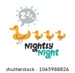 illustration of a duck mom with ...   Shutterstock .eps vector #1065988826