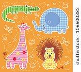 vector illustration with...   Shutterstock .eps vector #106600382