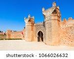 chellah entrance gate. chellah... | Shutterstock . vector #1066026632