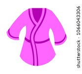 bathrobes icon   vector clothes ... | Shutterstock .eps vector #1066043306