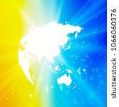 abstract world globe  planet...   Shutterstock .eps vector #1066060376