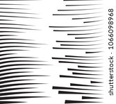 speed lines in arrow form .... | Shutterstock .eps vector #1066098968