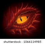 Yellow Eye Of Red Dragon....