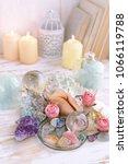 gemstones crystal minerals and... | Shutterstock . vector #1066119788