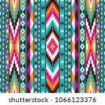 Tribal Seamless Colorful...