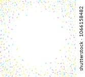 sprinkles grainy. sweet... | Shutterstock .eps vector #1066158482