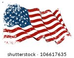 grange flag of usa | Shutterstock . vector #106617635