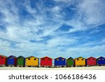 The Colorful Beach Houses At...