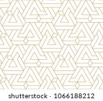 abstract geometric pattern with ... | Shutterstock .eps vector #1066188212