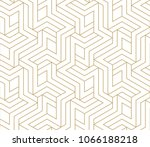 abstract geometric pattern with ... | Shutterstock .eps vector #1066188218