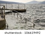 sea level rise   climate change ... | Shutterstock . vector #106619492