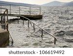 sea level rise   climate change ... | Shutterstock . vector #106619492