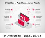 simple vector infographic for 6 ... | Shutterstock .eps vector #1066215785