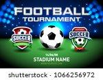 2018 football championship... | Shutterstock .eps vector #1066256972