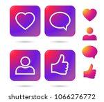 color gradient icon template. ...