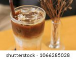 coffee   iced coffee  milk... | Shutterstock . vector #1066285028